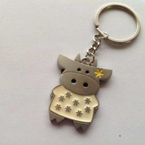 Porte Clé Keychain Couple Vache Cadeau Gift Souvenir