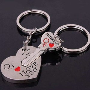 Porte-clés I LOVE YOU pour Toi et Moi Key Ring2