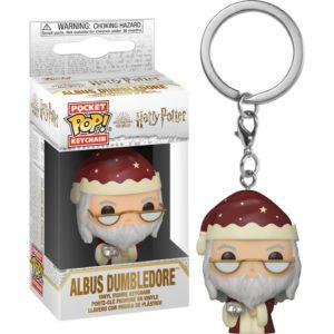 Pocket POP! Porte-Clés Harry Potter Holiday Dumbledore_1