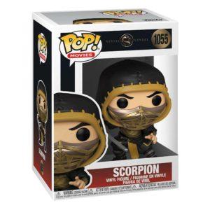 Funko POP! Movies Mortal Kombat Scorpion Normal Edition_1